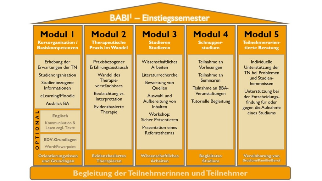 baBi1 Modulübersicht